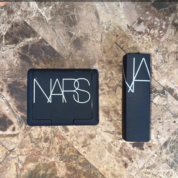 NARS mini orgasm blush and lipstick set